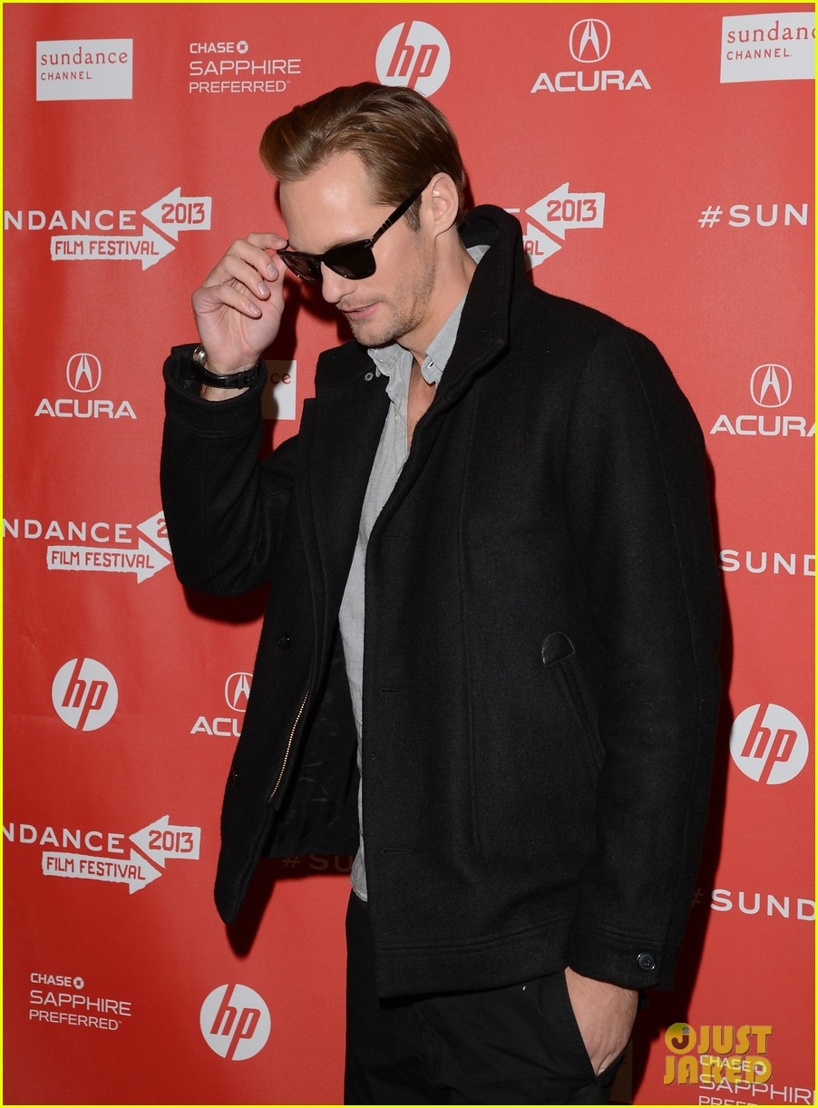 alexander skarsgard brit marling the east sundance premiere 082795701
