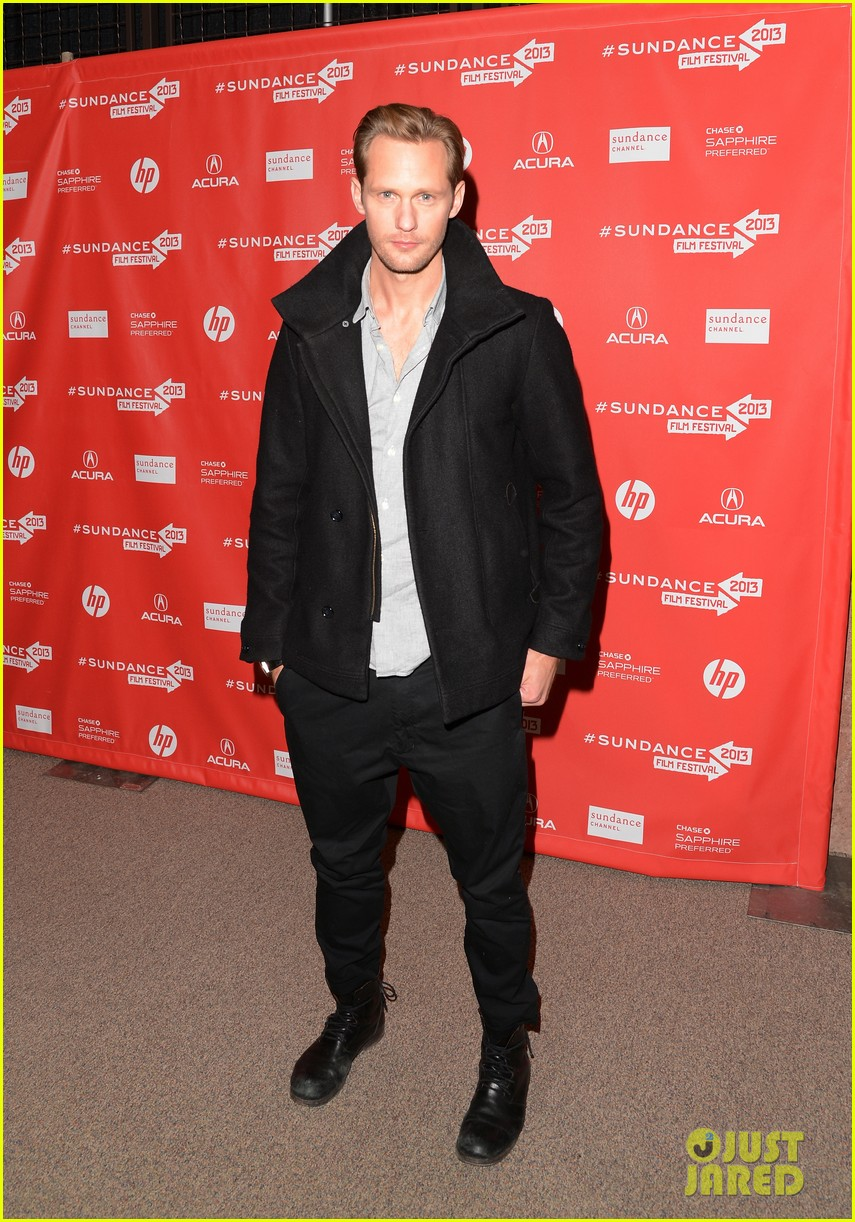 alexander skarsgard brit marling the east sundance premiere 13