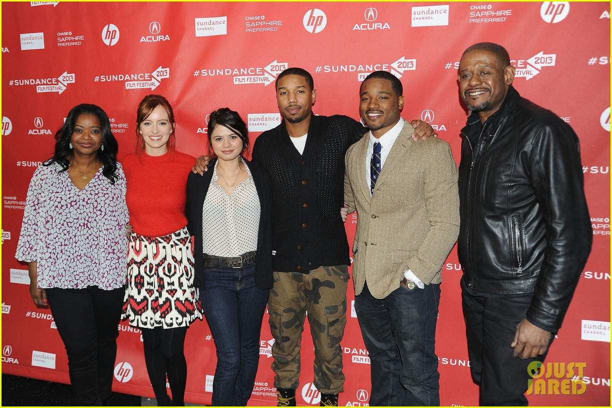 octavia spencer michael b jordan fruitvale at sundance 05