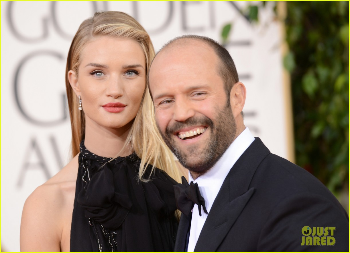 rosie huntington whiteley jason statham golden globes 2013 022791063