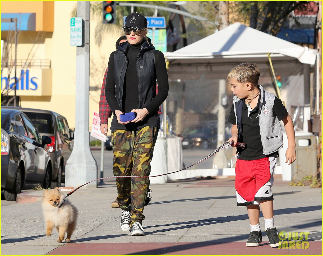 gwen stefani gavin rossdale runyon canyon kids 22