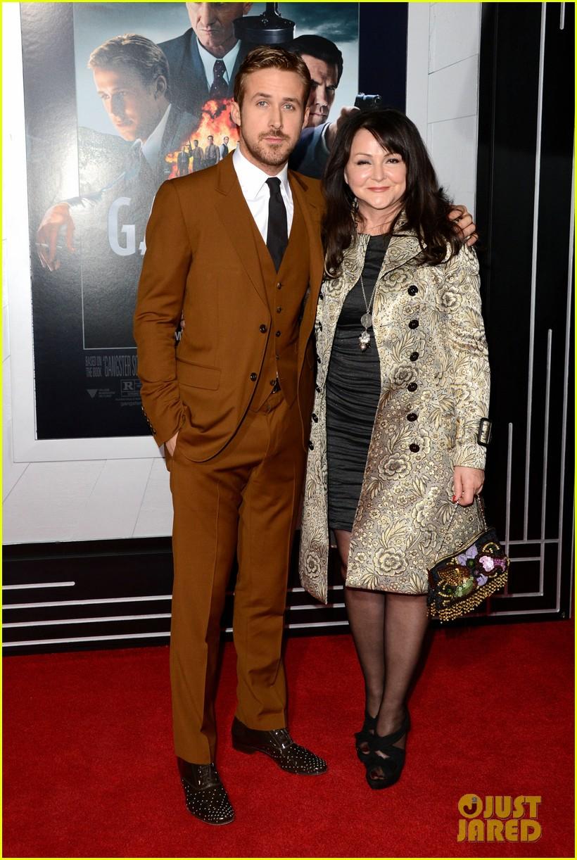 emma stone ryan gosling gangster squad premiere 07