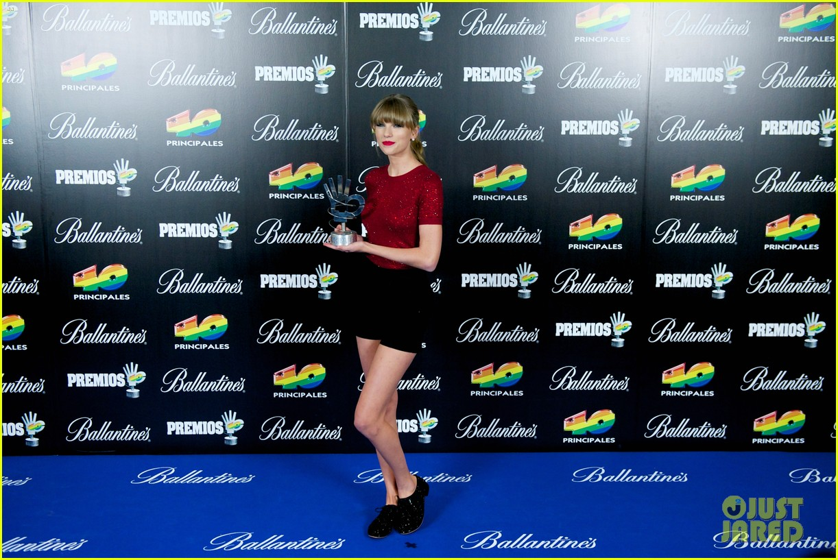 taylor swift 40 principales performance watch now 09