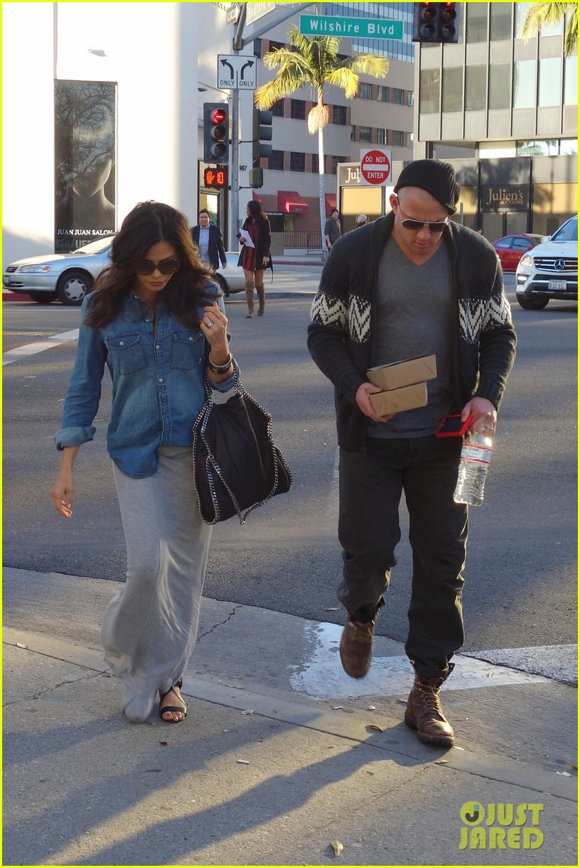 channing tatum bald head with pregnant jenna dewan 03