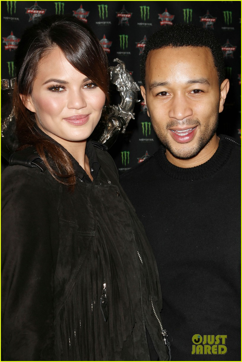 chrissy teigen john legend professional bull riders party 12