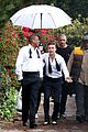 justin timberlake suit & tie music video shoot with jay z 09