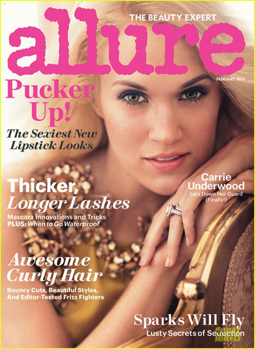 carrie underwood covers allure magazine february 2013 03