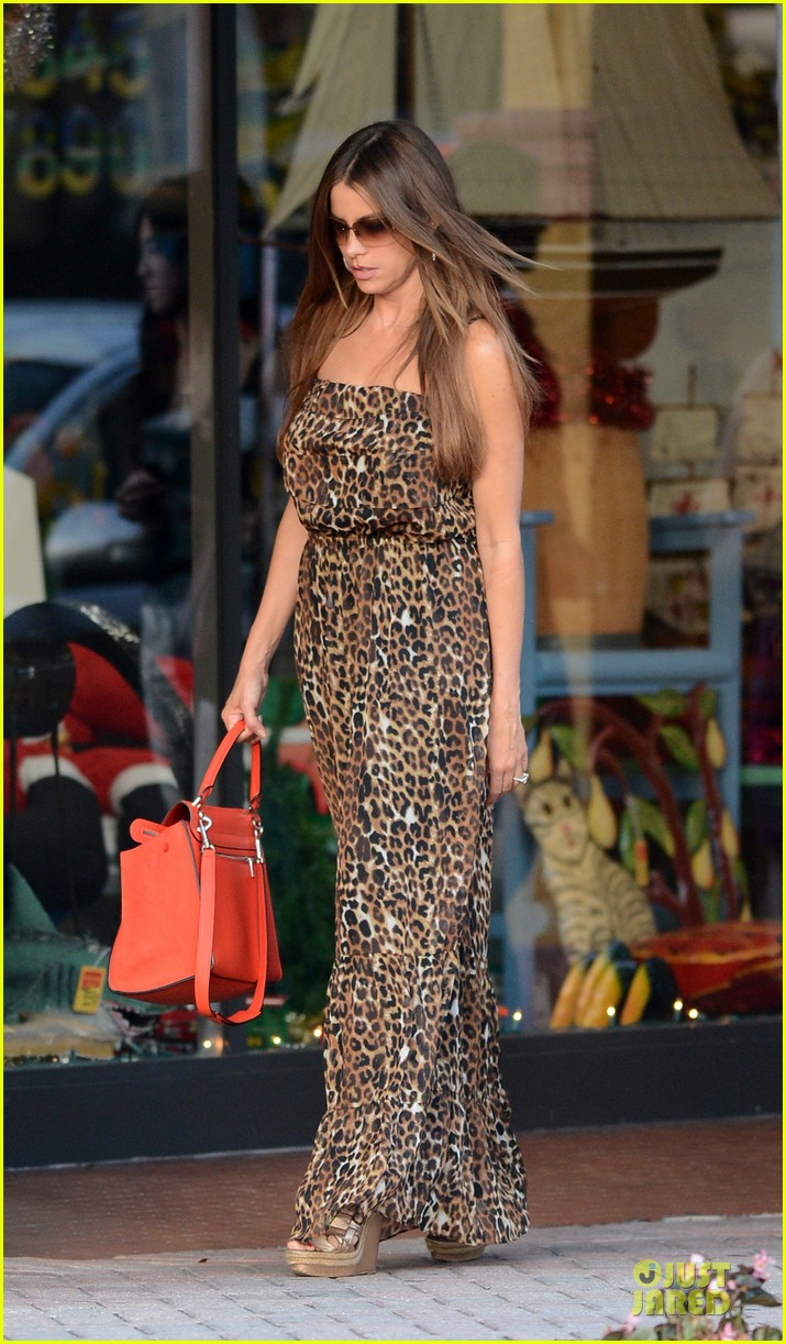 sofia vergara & nick loeb mall shopping couple 14