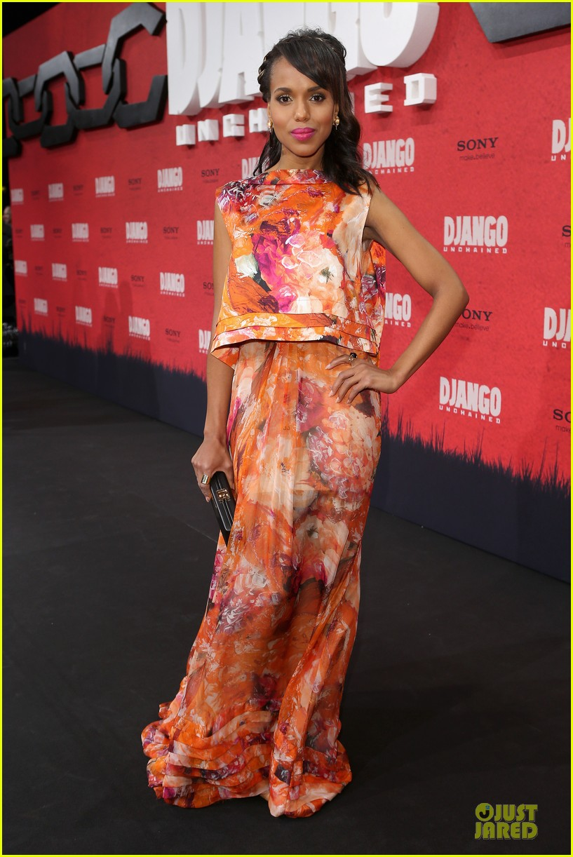 kerry washington & jamie foxx django unchained berlin premiere 062787068