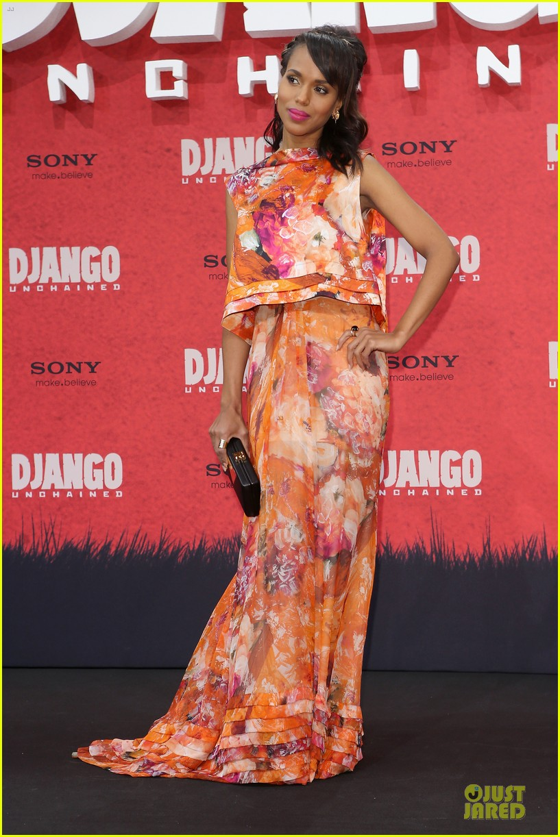 kerry washington & jamie foxx django unchained berlin premiere 07
