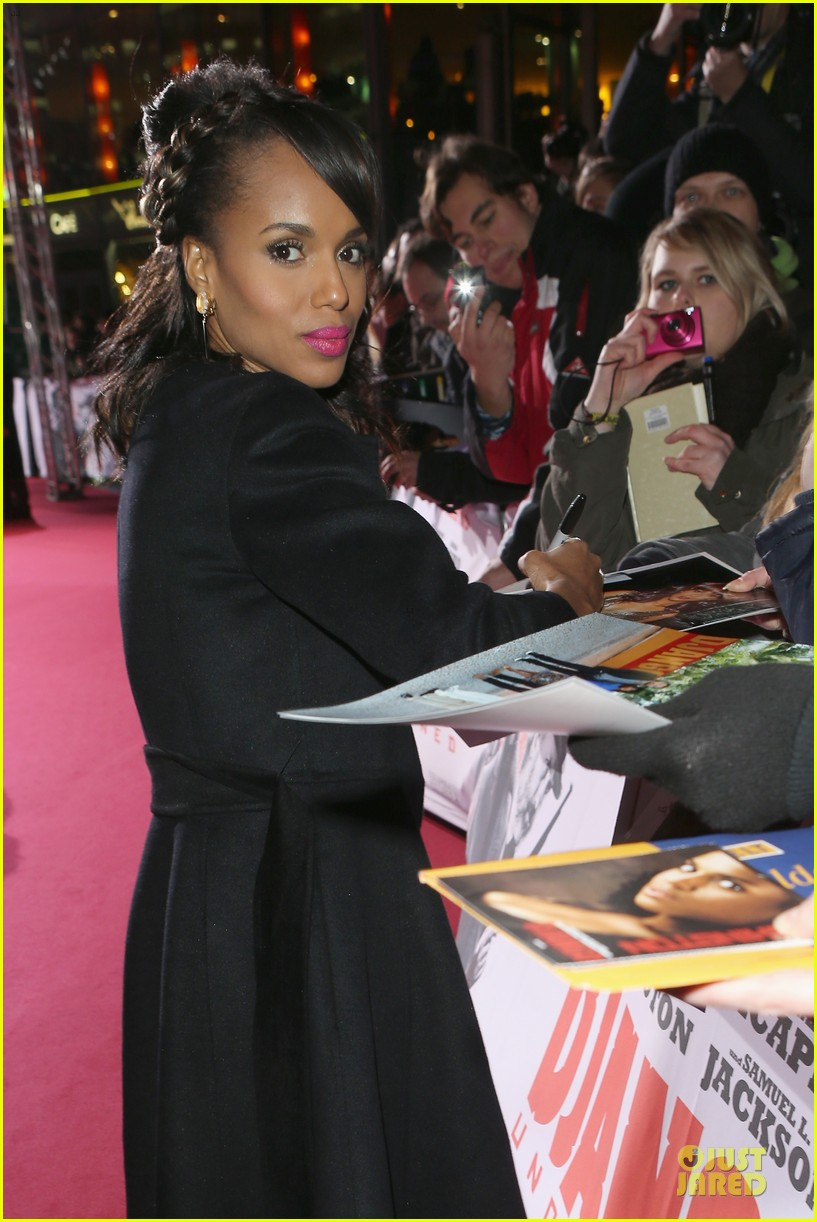 kerry washington & jamie foxx django unchained berlin premiere 08