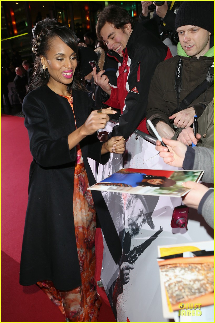 kerry washington & jamie foxx django unchained berlin premiere 09