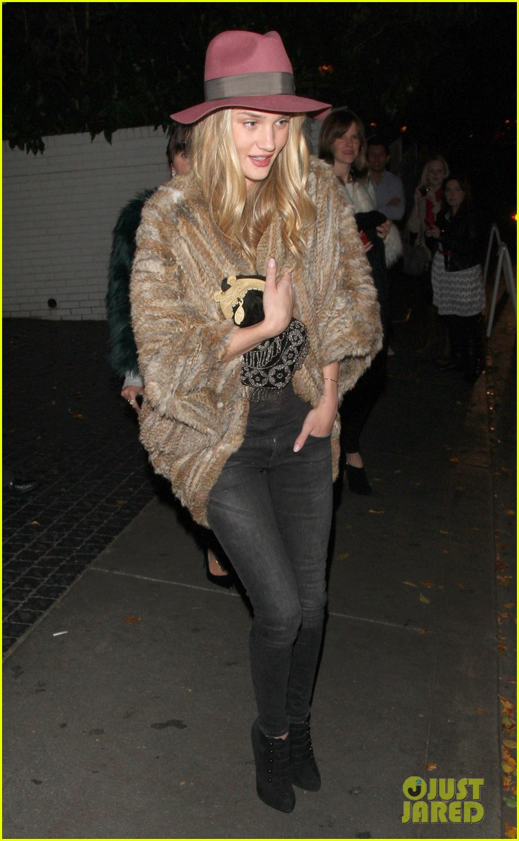 rosie huntington whiteley chateau marmont night out 01