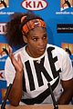 serena williams reveals swollen ankle after breaking racquet 19