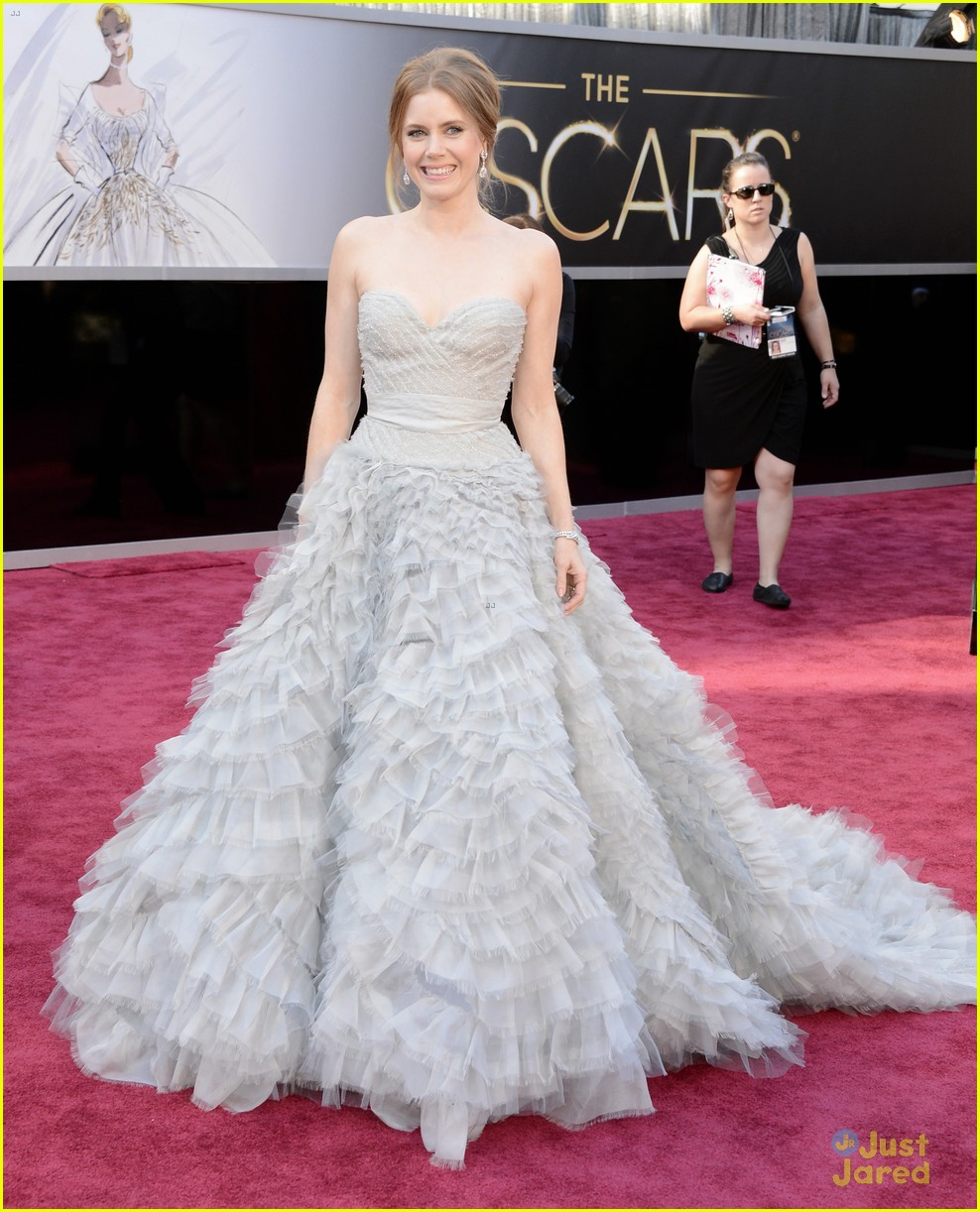 amy adams darren le gallo oscars 2013 red carpet 012818975