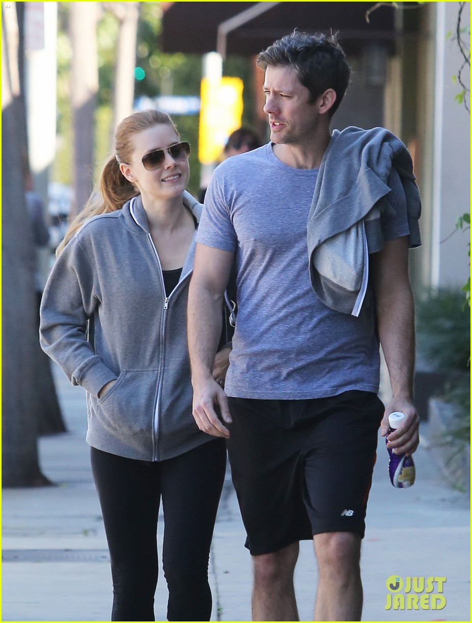 amy adams darren le gallo weho workout twosome 06