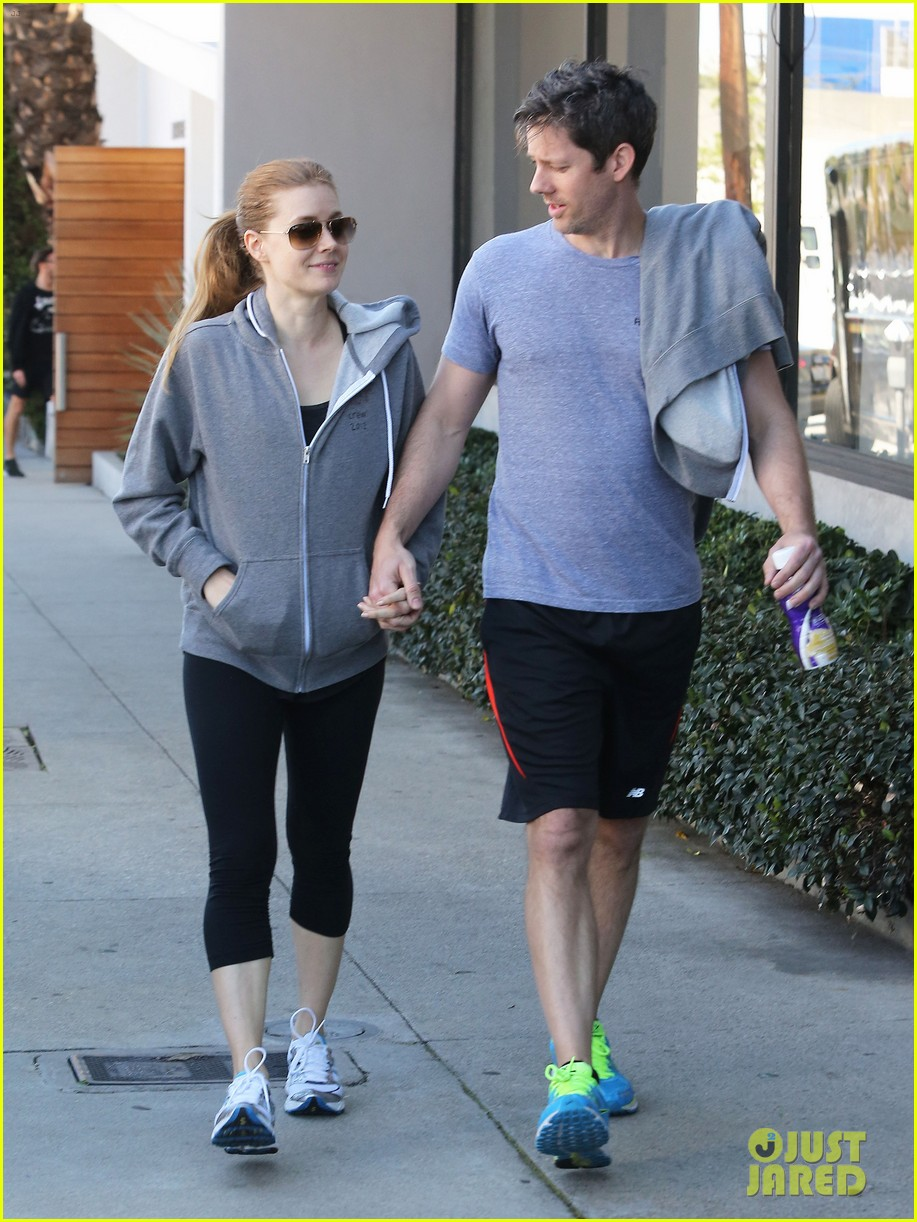 amy adams darren le gallo weho workout twosome 10