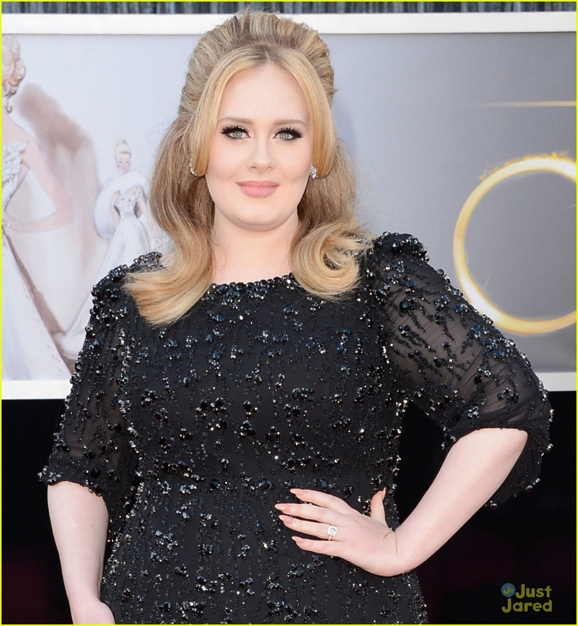 adele oscars red carpet 2013 06