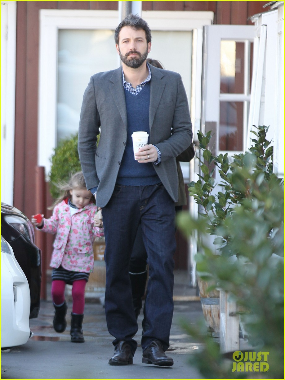 ben affleck jennifer garner breakfast with seraphina 06