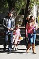 ben affleck pre oscars spelling bee with violet 01