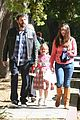 ben affleck pre oscars spelling bee with violet 05