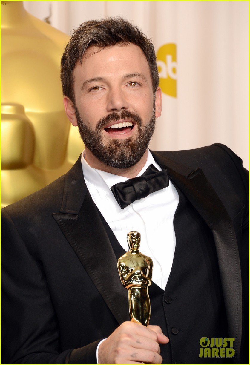 ben affleck george clooney win best picture oscar 2013 02