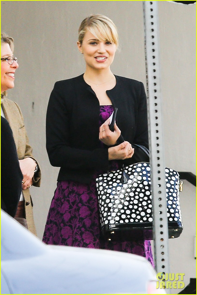 dianna agron i want to see jane lynch broadway debut 02