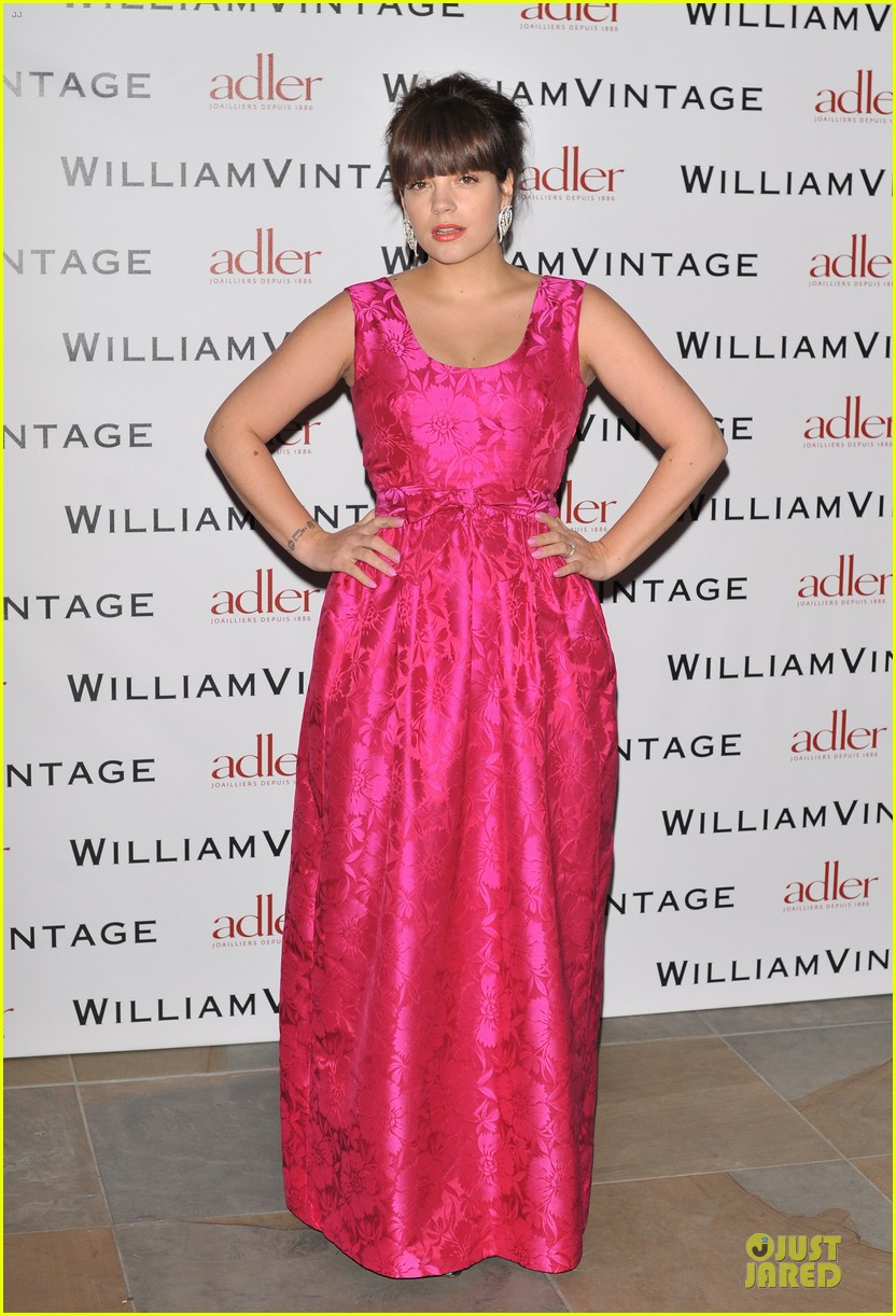 lily allen douglas booth bafa william vintage dinner 18