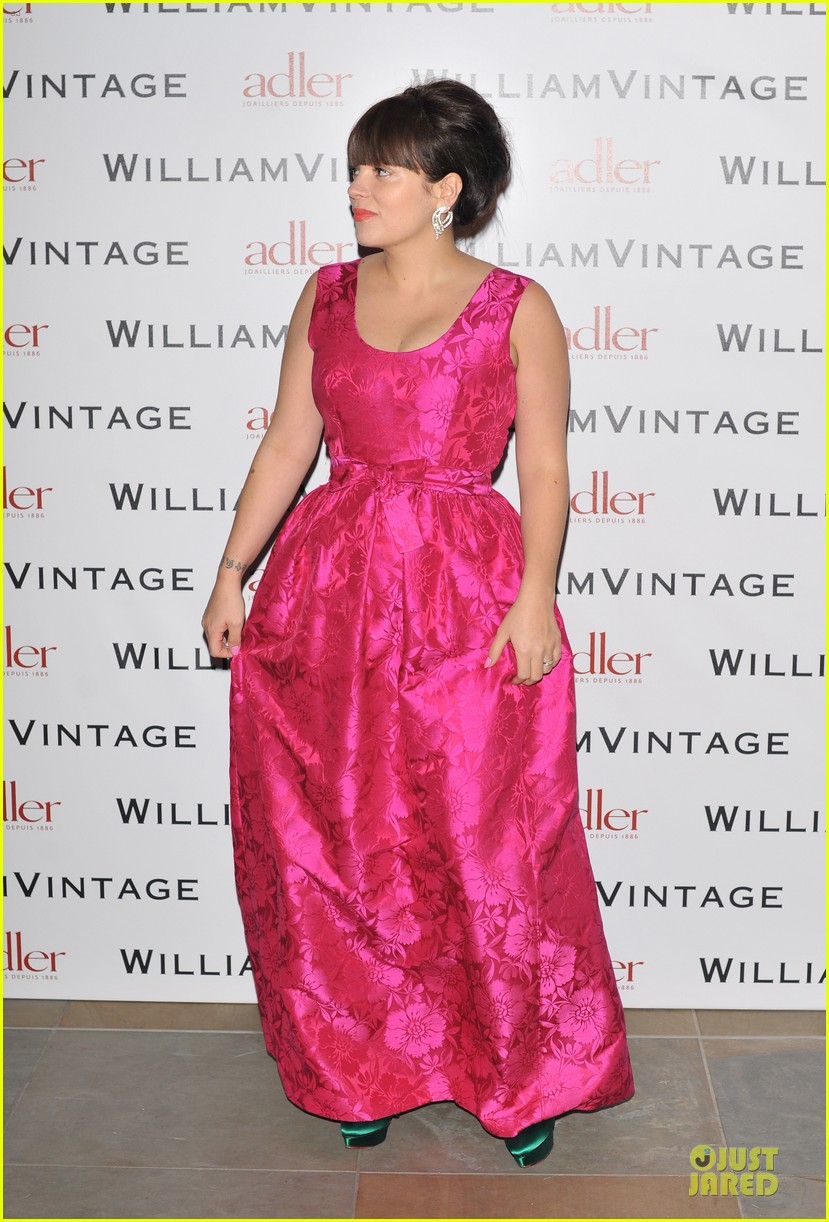 lily allen douglas booth bafa william vintage dinner 19