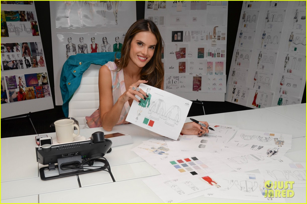 alessandra ambrosio works on ale by alessandra designs 192806133