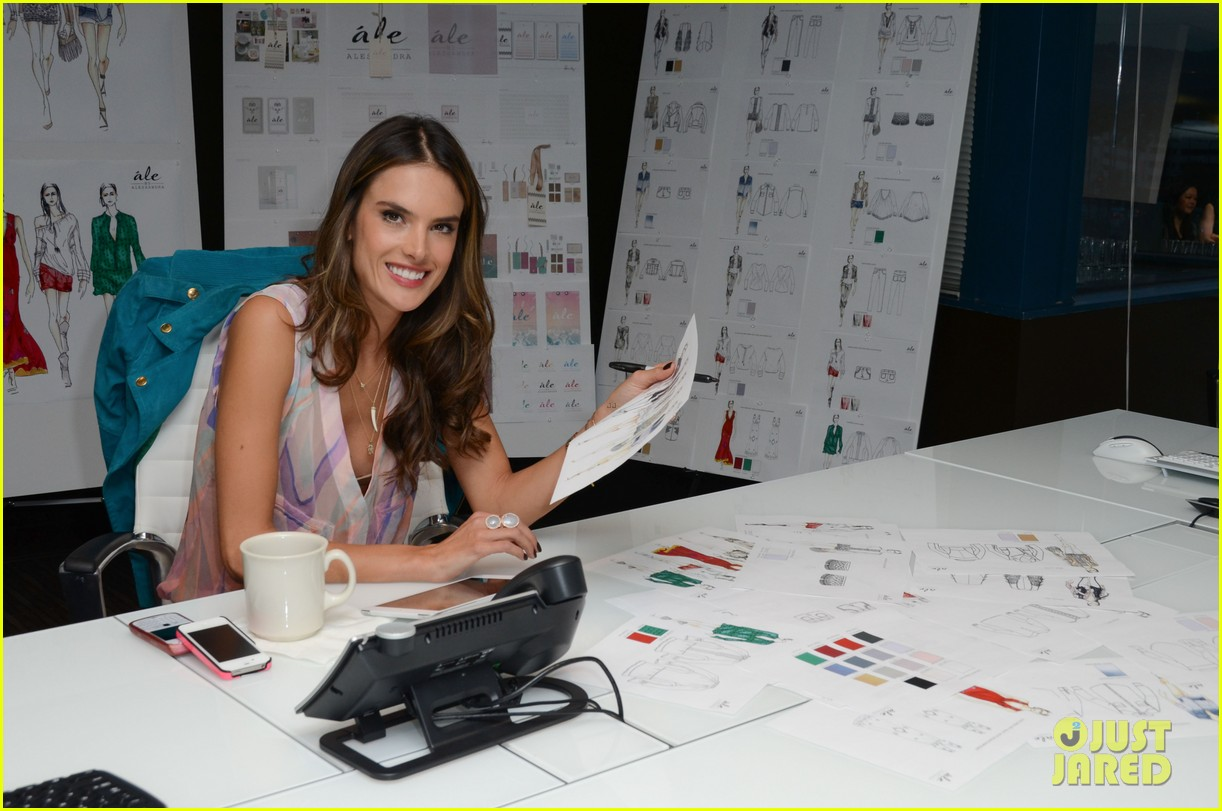 alessandra ambrosio works on ale by alessandra designs 202806134