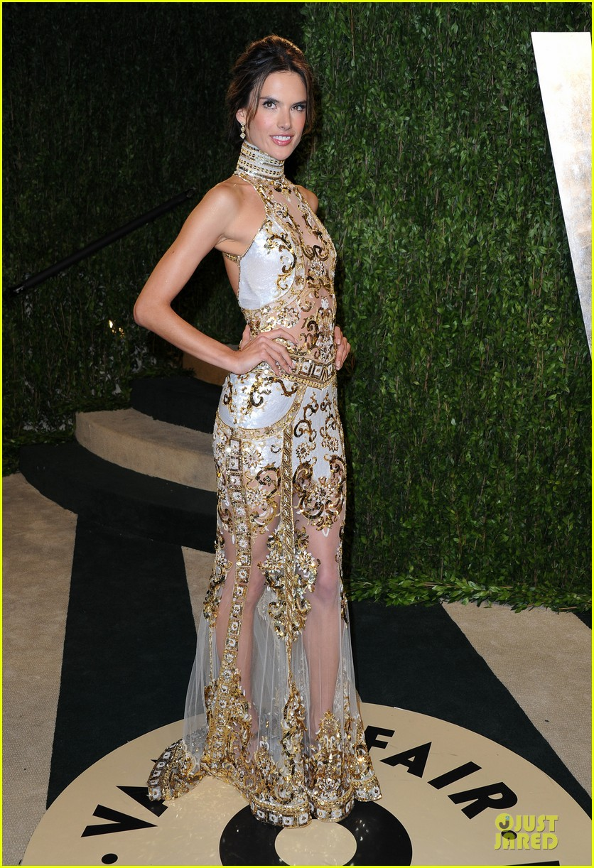 alessandra ambrosio vanity fair oscars party 2013 03