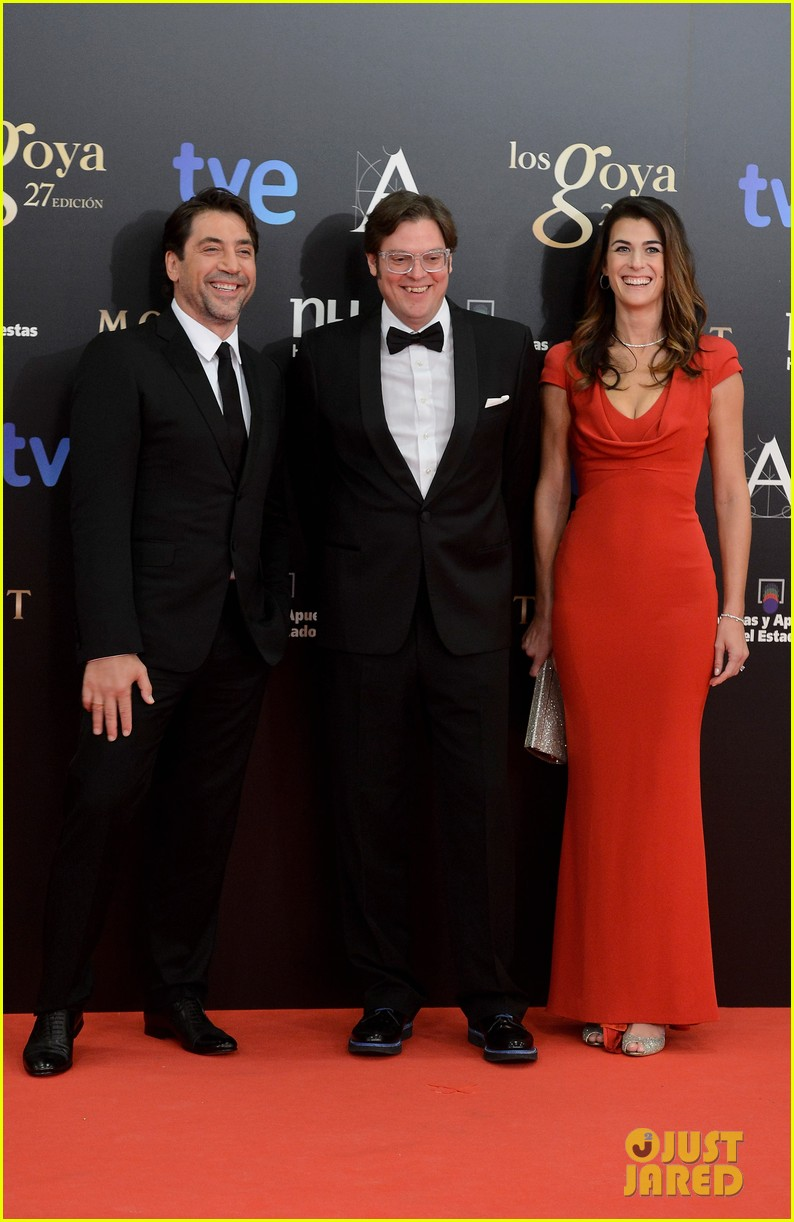 javier bardem goya awards after penelope cruz pregnancy confirmation 092814296