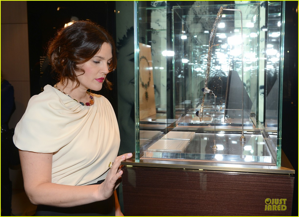 drew barrymore julianne moore elizabeth taylor bvlgari collection event 082815516