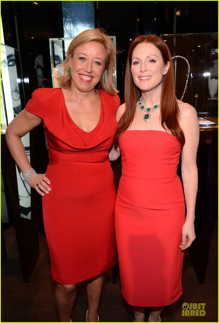 drew barrymore julianne moore elizabeth taylor bvlgari collection event 142815522
