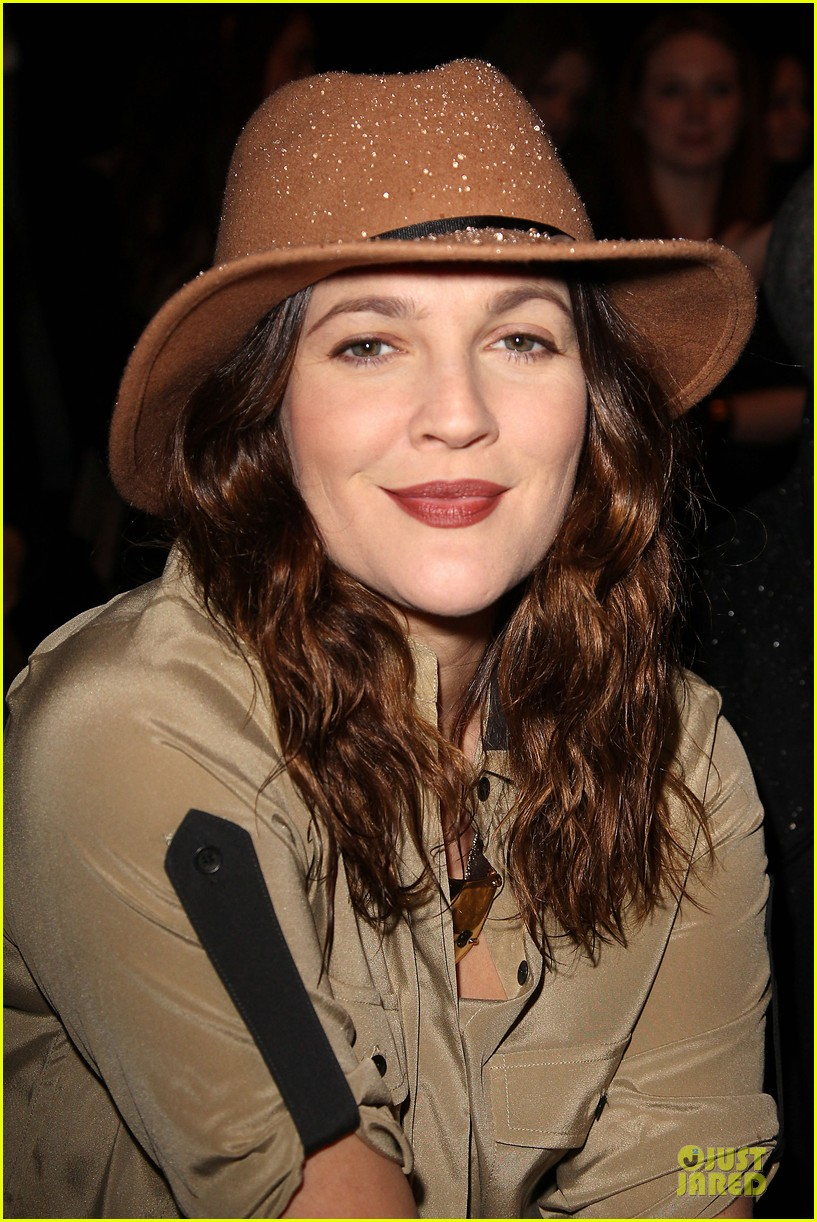 drew barrymore rag bone fashion show 172807578