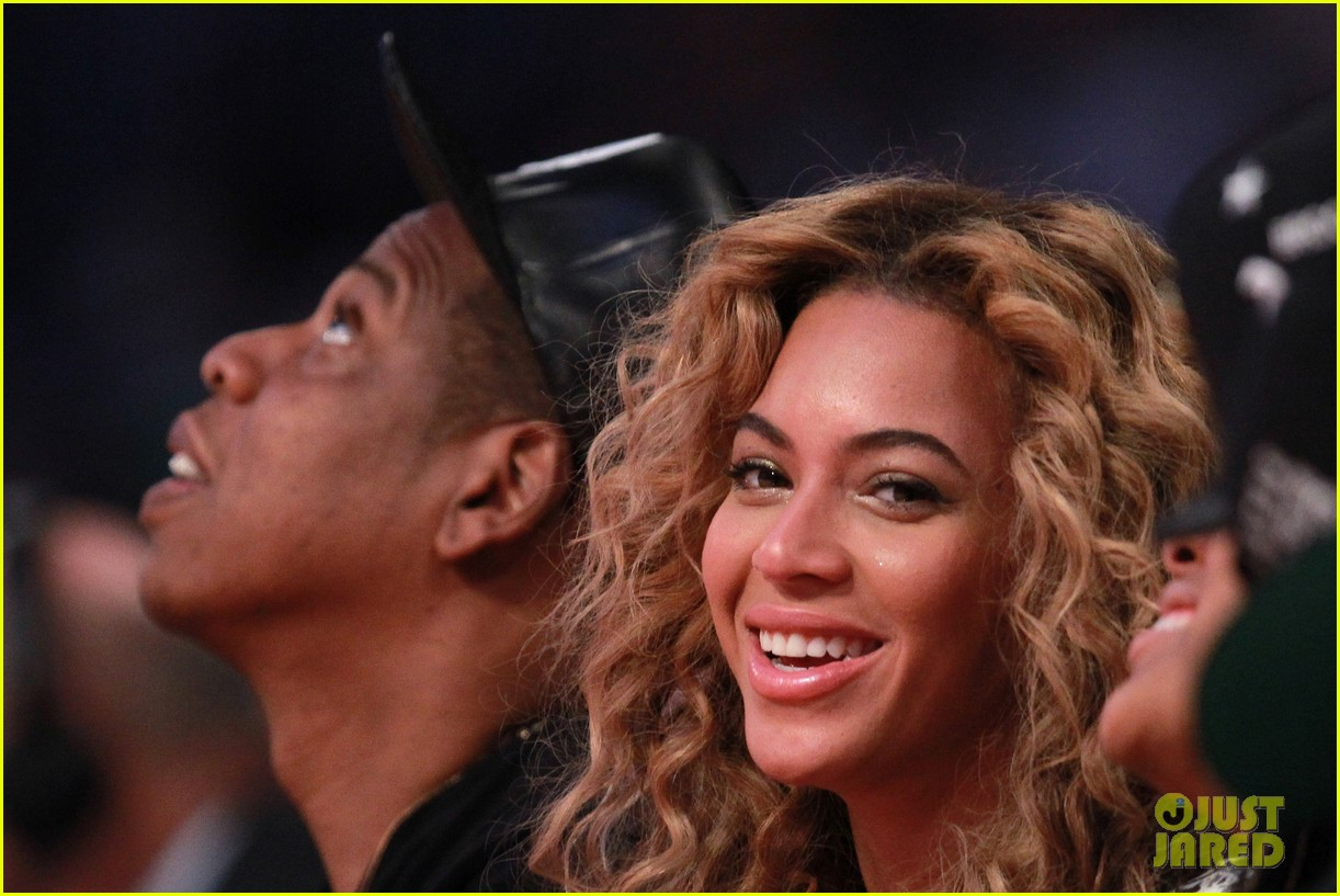 beyonce jay z nba all star game 03
