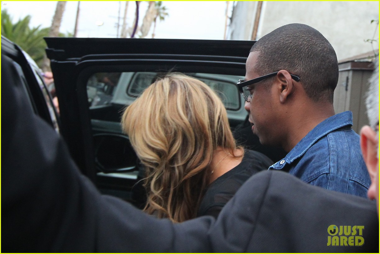 beyonce jay z gjelina lunch date with blue ivy 04