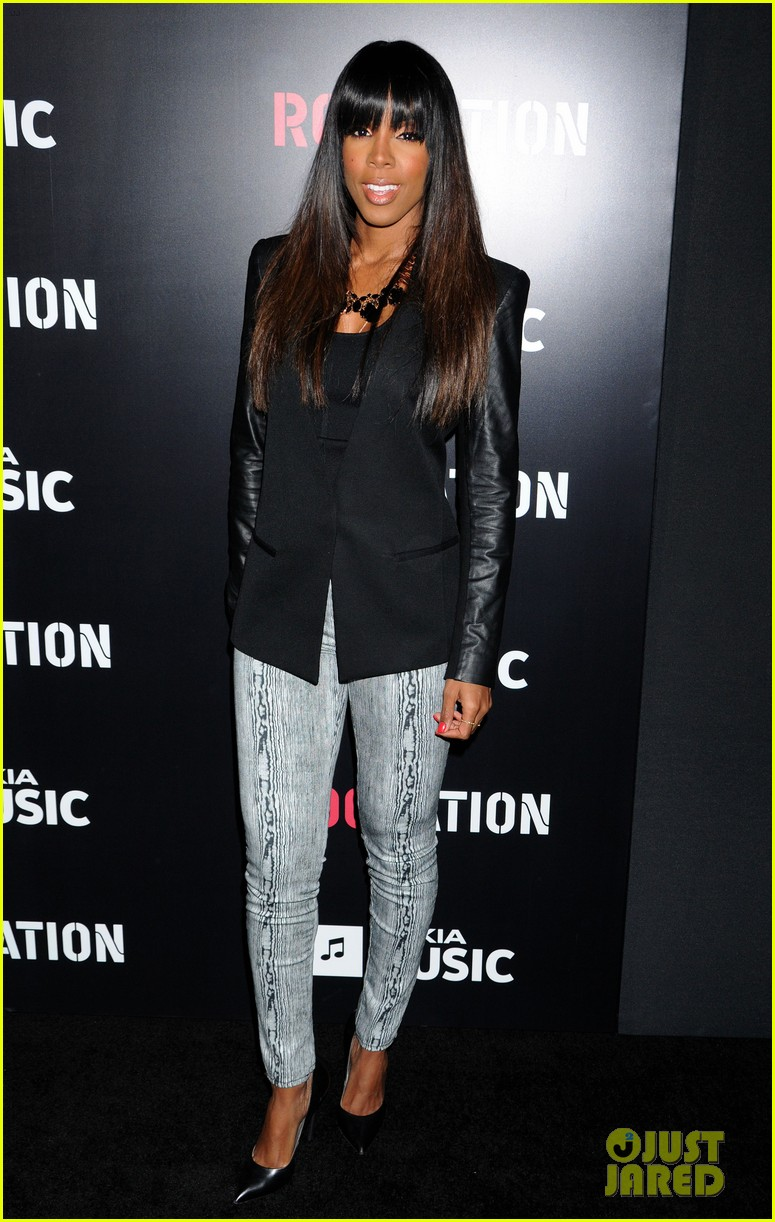 beyonce solange knowles roc nation pre grammy party 2013 03