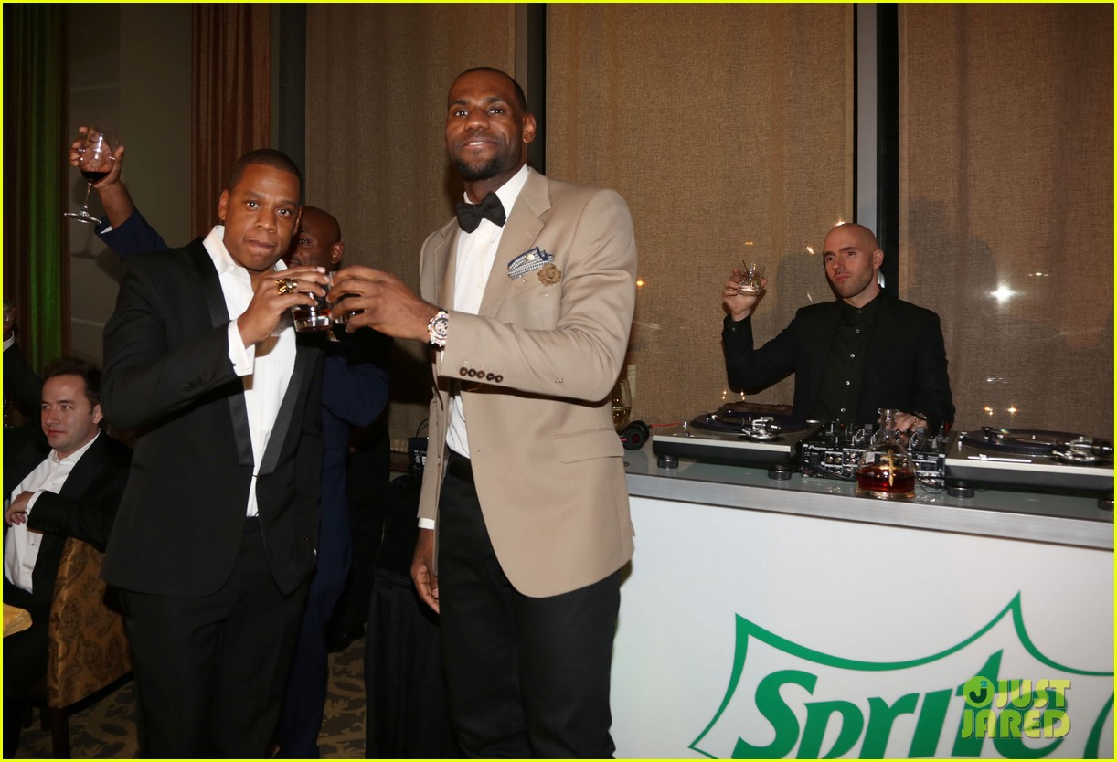beyonce jay z sprite 2 kings dinner on premiere night 02