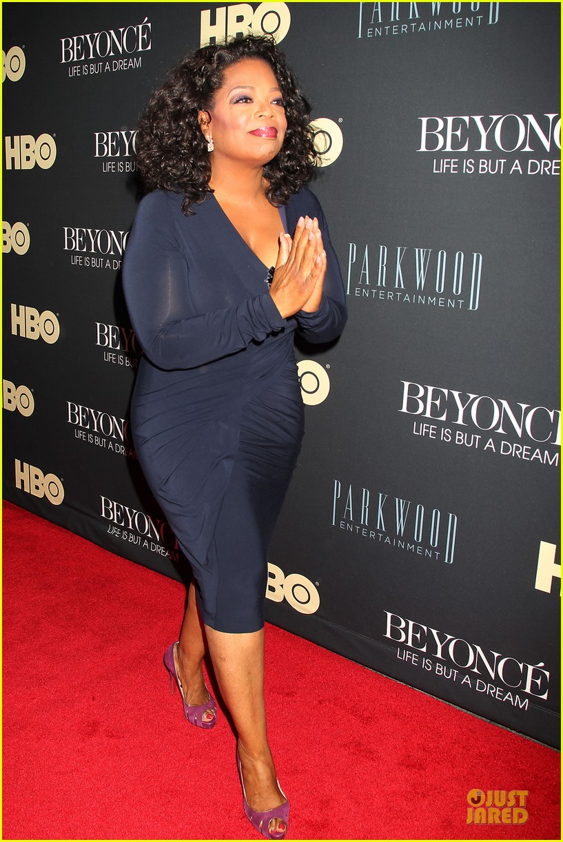 beyonce oprah winfrey life is but a dream ny premiere 052810910