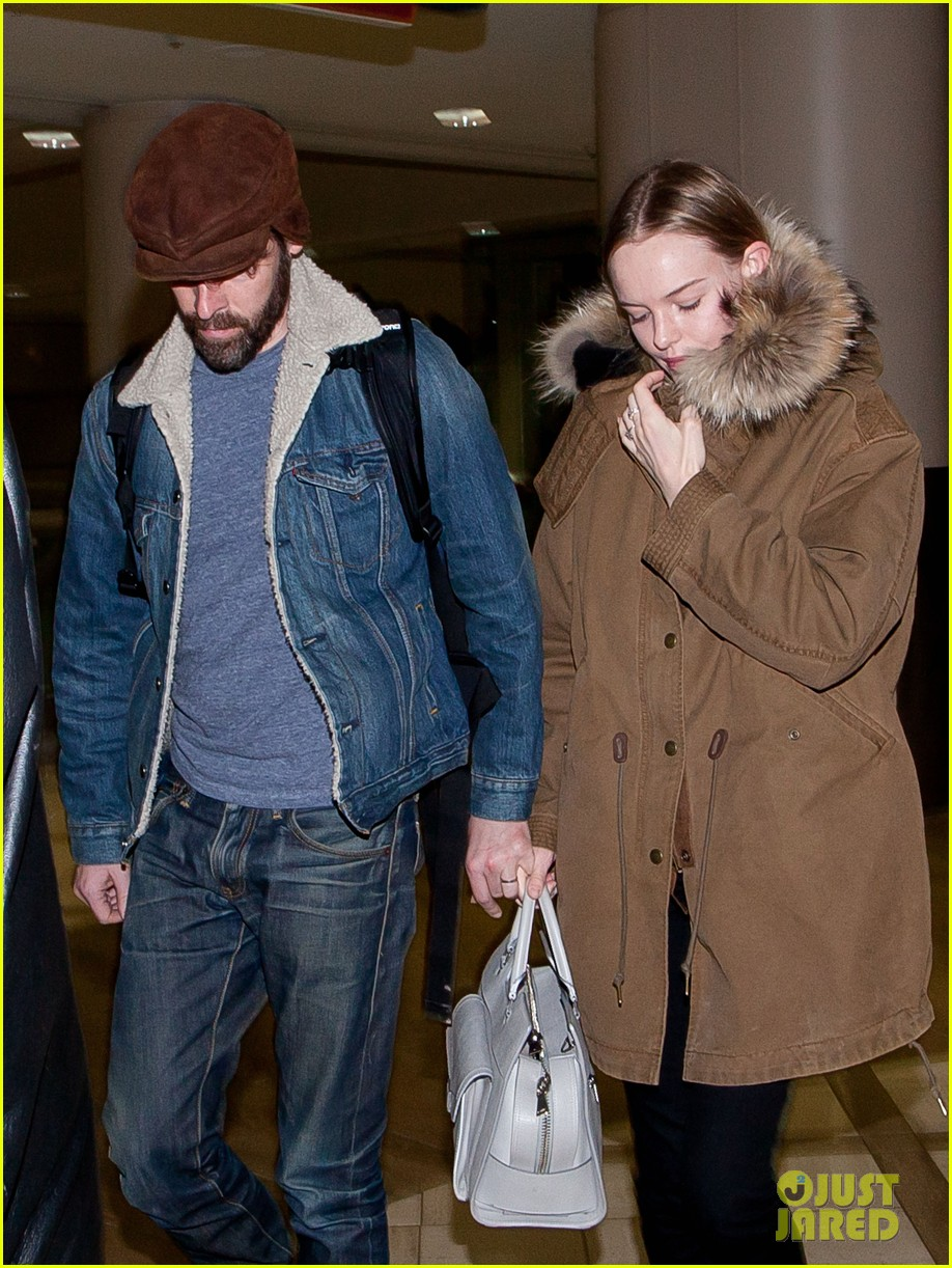 kate bosworth lax arrivial with michael polish 10