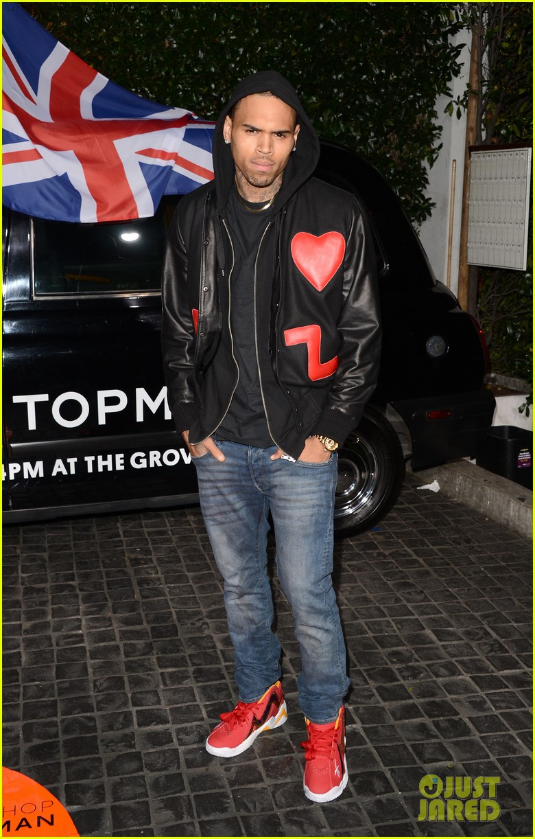 chris brown solange knowles topshop topman la opening party 11
