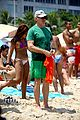 calista flockhart bikini beach day with harrison ford 26