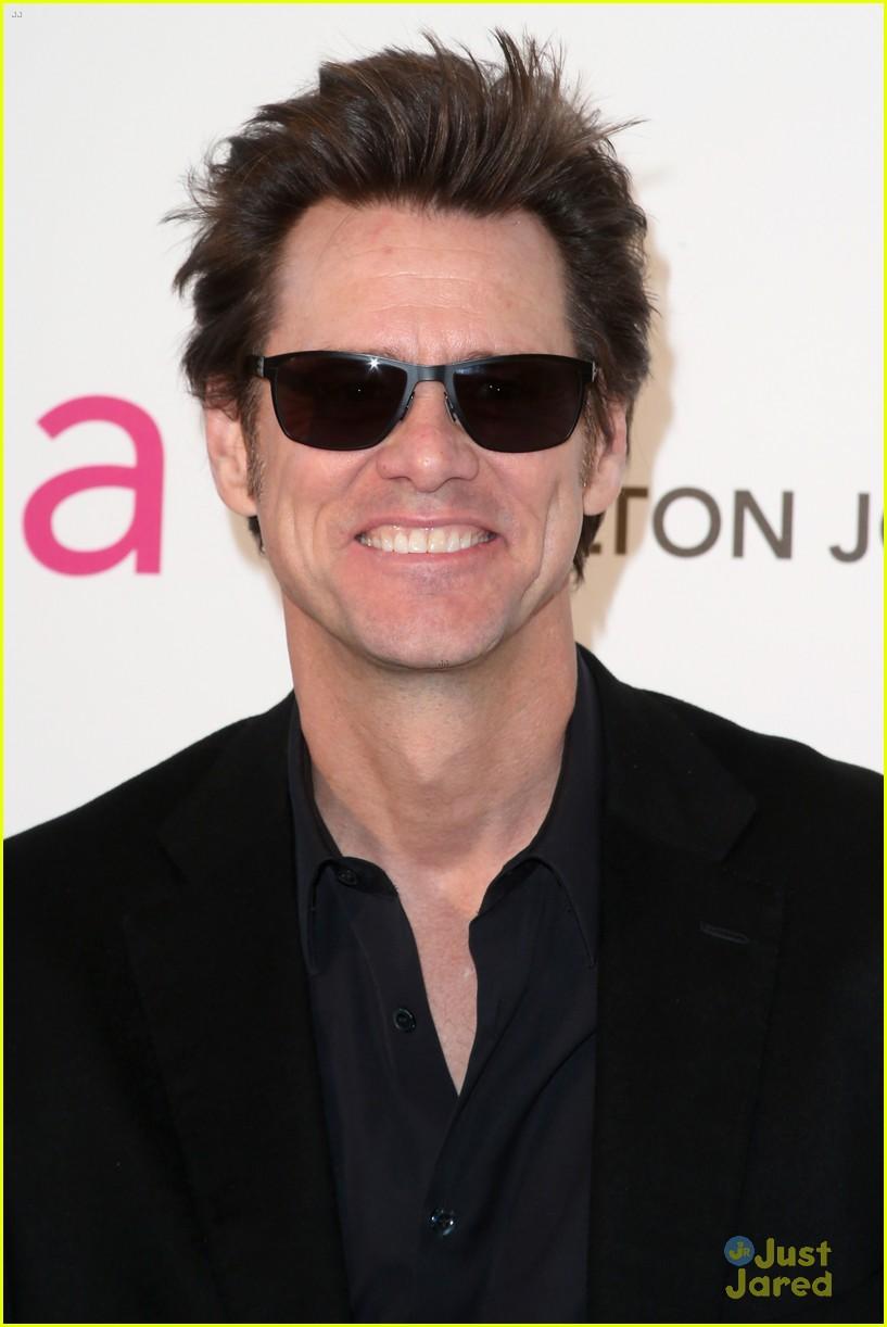 Jim Carrey: Giant Feet at Elton John Oscars Party 2013!: Photo 2819757 ... Jim Carrey