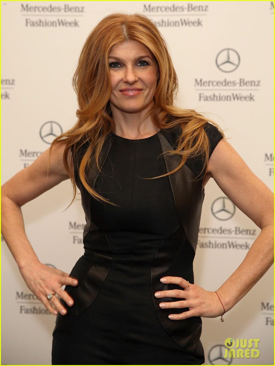 emilia clarke zoe kravitz fashion week fierce 082808348