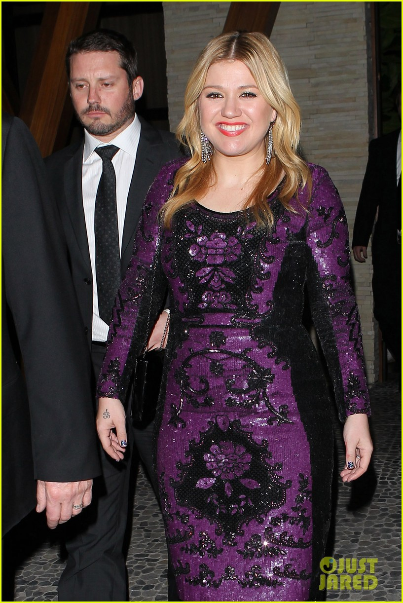 kelly clarkson adele sony music grammy after party 04