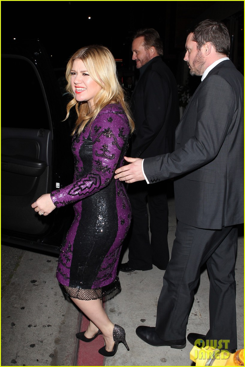 kelly clarkson adele sony music grammy after party 092809906
