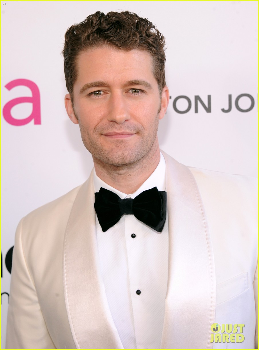 chris colfer matthew morrison elton john oscars party 2013 10