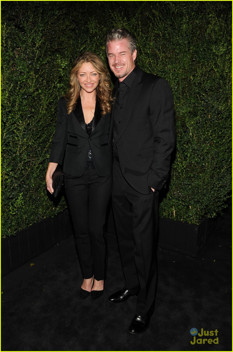 eric dane rebecca gayheart chanel pre oscars dinner 2013 012818480